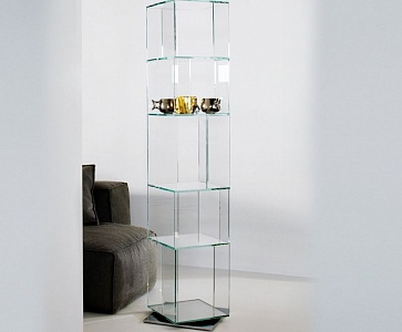 Стеллаж Cubic glass